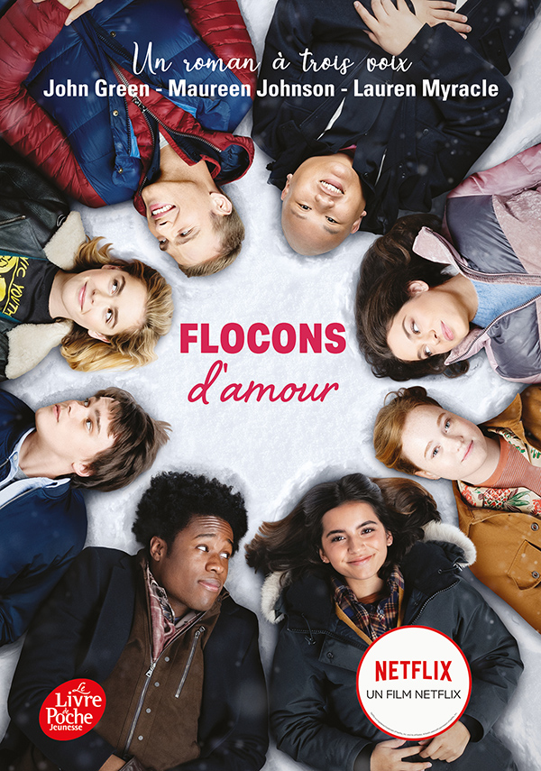 couverture de Flocons d'amour - Tie-in
