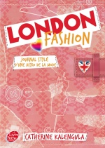couverture de London fashion - Tome 1 - Journal stylé d\'une accro de la mode