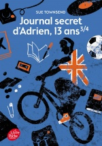 couverture de Journal secret d'Adrien, 13 ans 3/4